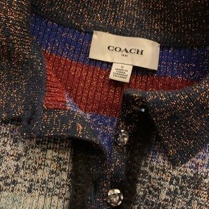 Coach Sweaters - Coach FW 2016 (maybe '17) RTW knit s/s sweater